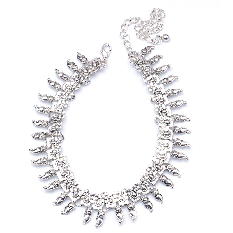 Occident and the United States alloy plating necklace (Silver)NHYT0489-Silver