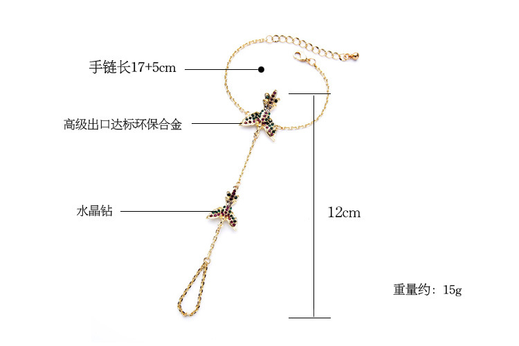 Fashion jewelry wholesale luxury diamond cute women's bracelet NHQD187947