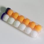 直销训练乒乓球 塑料彩色比赛乒乓球 高弹性小桶装乒乓球