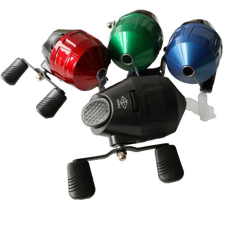 射鱼轮双鱼堡垒10S/18红轮黑轮蓝轮绿轮内出线鱼镖轮内藏轮鱼线轮
