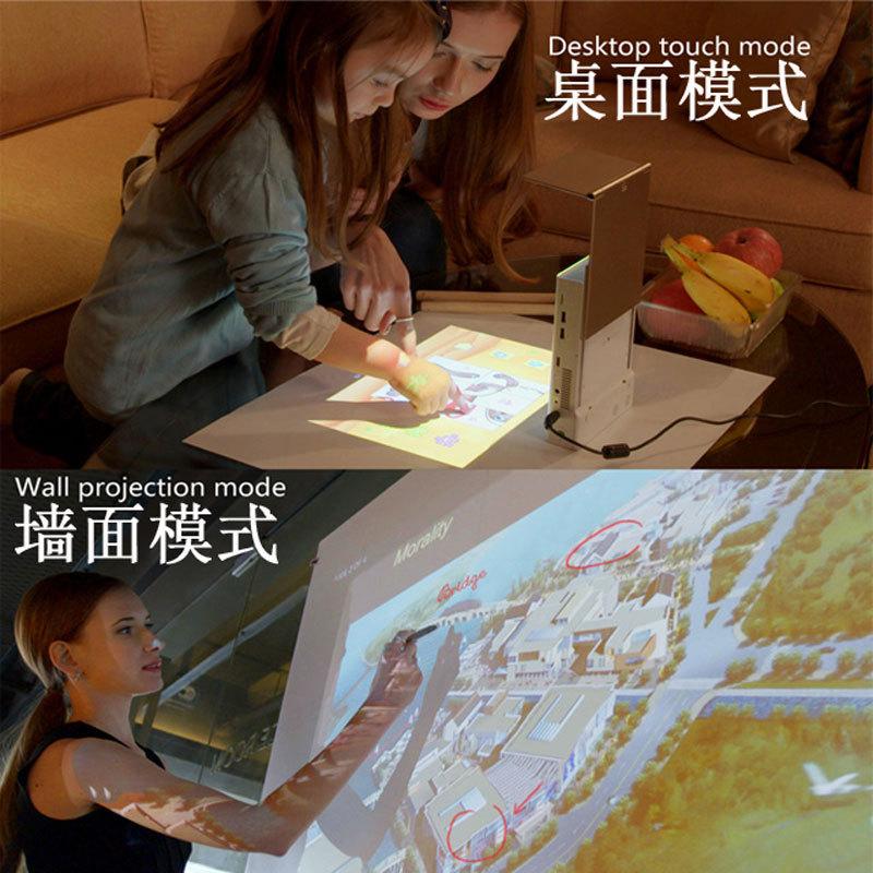 家用办公智能 触控微投无线wifi 微型投影仪1080P 高清3D