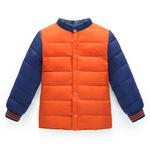 Áo khoác bé trai thời trang, thiết kế ghép nối màu sắc, sành điệu