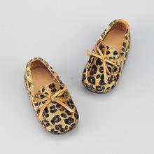 广州厂家宝宝鞋批发 韩版豹纹小公主鞋 春款儿童单鞋 一件代发