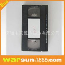 新款大型VHS录音磁带120min180min240min 13mm宽录像带