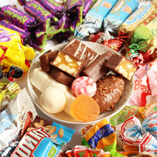 6斤包邮 俄罗斯进口糖果 威化/软糖/硬糖混装混糖 喜糖婚庆批发