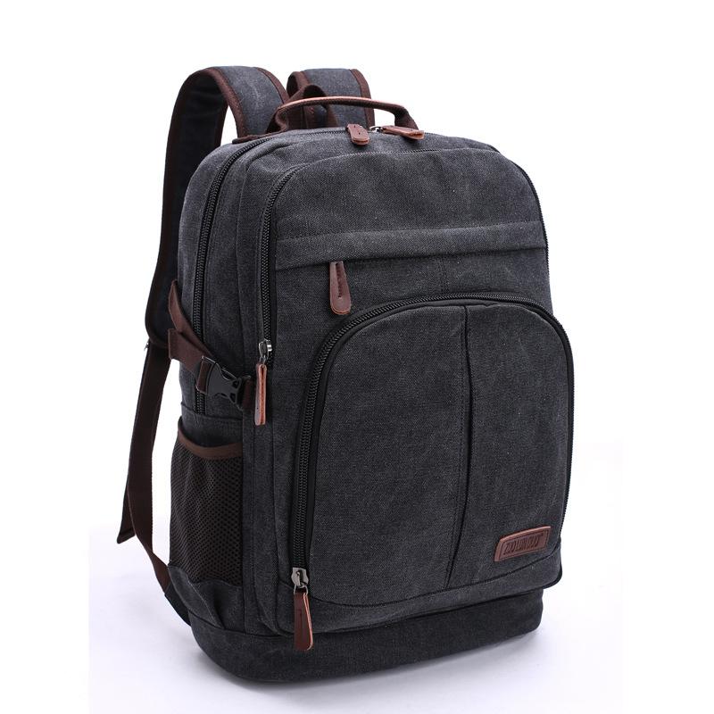 Đa năng dung lượng lớn túi vải có thể giặt được Ba lô máy tính giải trí sinh viên Ba lô du lịch ngoài trời