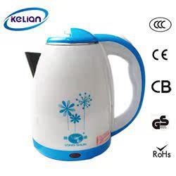 OEM定制 科联家用 防烫保温 包胶电热水壶 1.5L节能均热快速壶