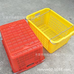 供应上海市加厚塑胶箩 电子产品包装周转防静电塑胶框 可发货