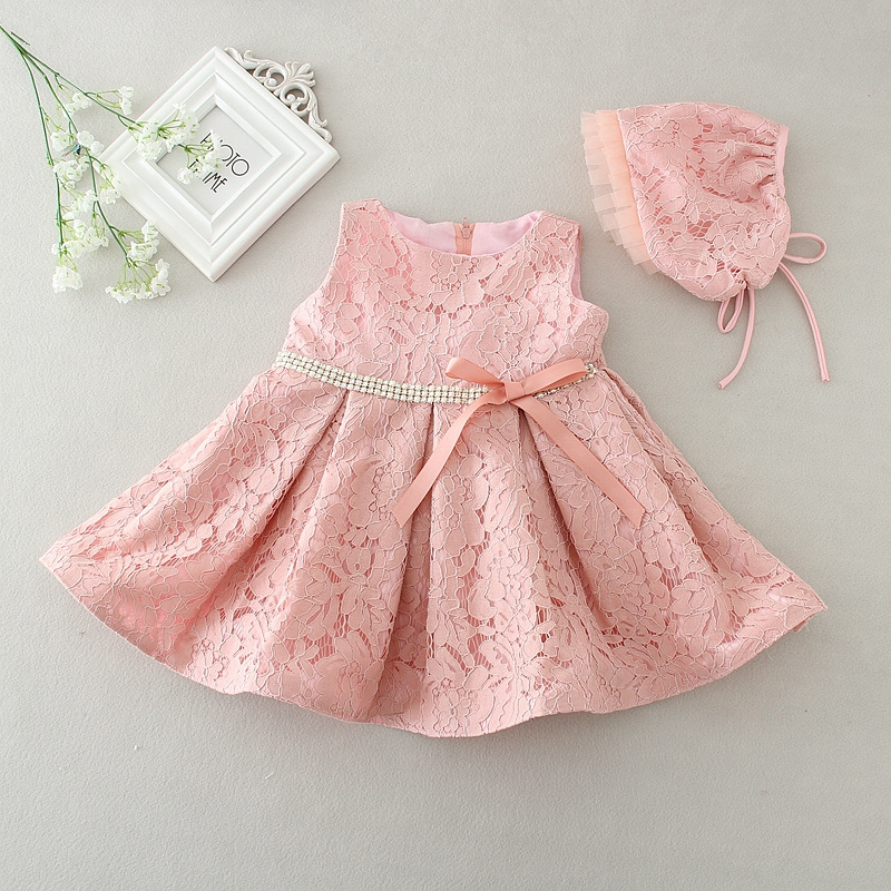 ... 1 Year Birthday Dress. Newborn Baby Girl Dresses With Diamand Belt Baby  Birthday Party . f505bd01054c