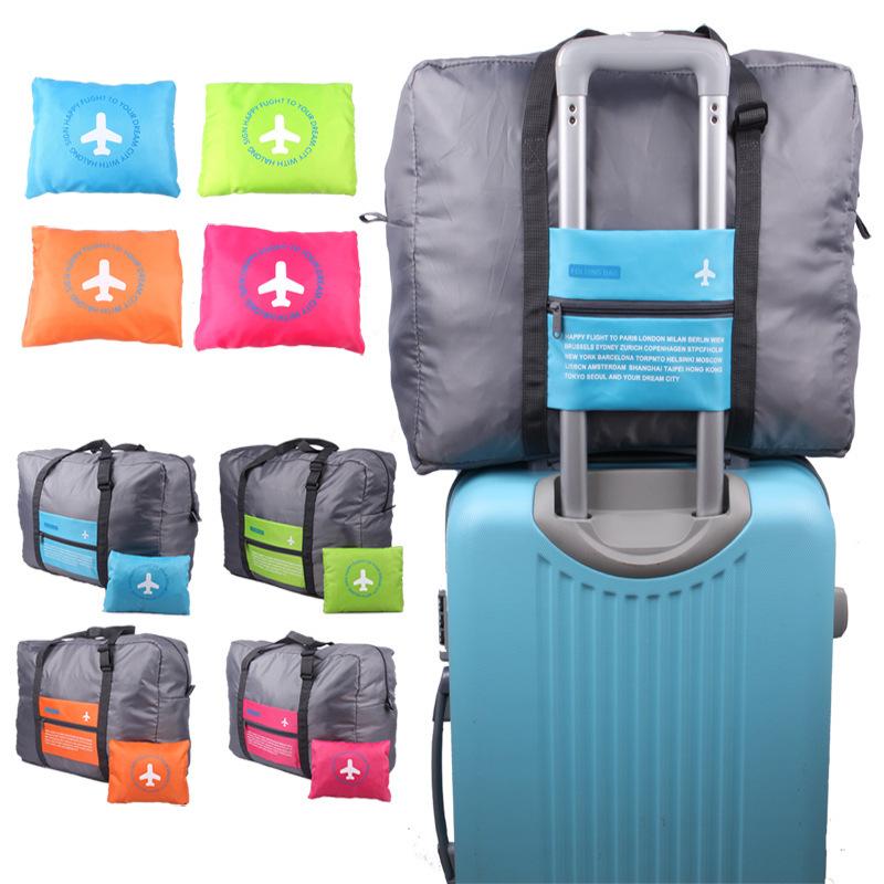 行徒韩版牛津布折叠旅行飞机包 大容量飞机拉杆旅行收纳袋批发