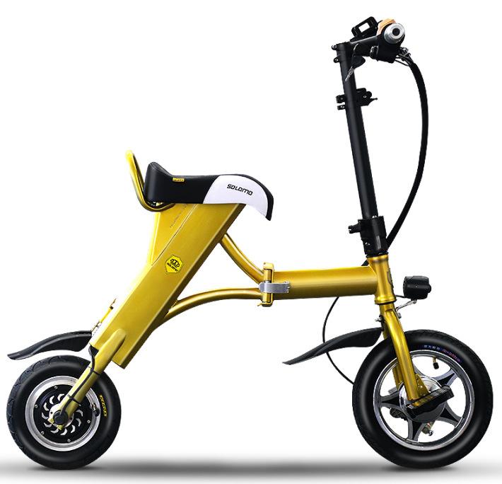 MINIFOX 折叠电动自行车  电动自行车 土豪金 50km旗舰版(预售)