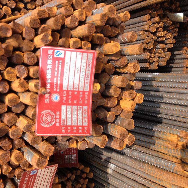 厂家供应 三级螺纹钢 HRB400E高强度建筑用珠海粤钢