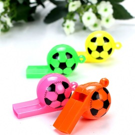 Plastic football whistle World Cup football referee whistle cheering props toy