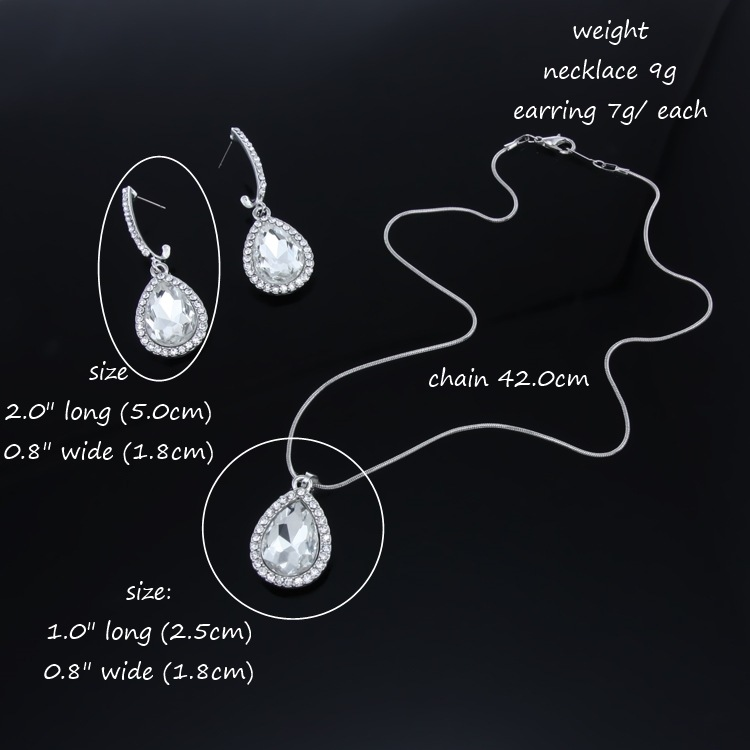 Womens Electroplated Alloy Jewelry Sets NHAS120954