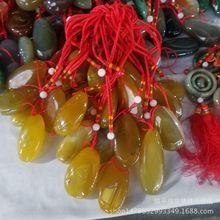 天然玛瑙原石 缠丝玛瑙手把件精品玉髓把玩件地摊玉厂家批发