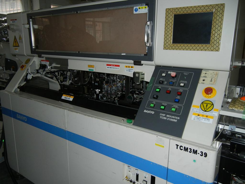 汽车电子贴片  三洋高速贴片机TCM3200J