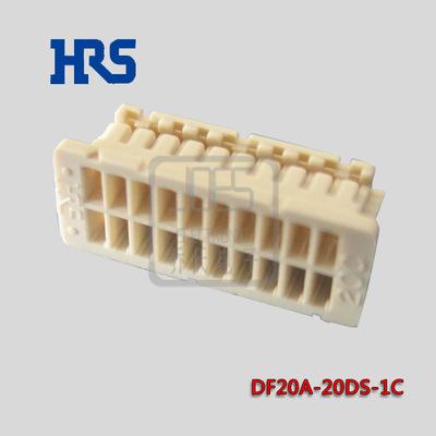 HRS 12博DF20A-20DS-1C 间距1mm双排20pin HRS 12博官网  原厂现货