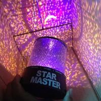 Светодиодный звездное небо иракский проектор красочный ночник спящий свет творческий подарок звездное небо свет будка поставка горячая распродажа
