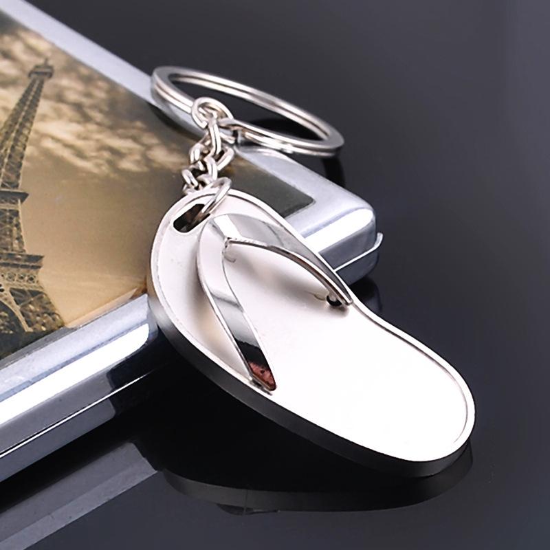 淘宝 汽车钥匙挂件 赠品刻字创意礼品人字拖鞋钥匙扣包包挂件