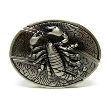 3D霸氣蝎子帶小刀皮帶扣 時尚個性動物腰帶扣  經典爆款皮帶扣