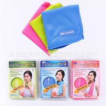 韩国S.S进口冰巾冰凉毛巾降温防暑吸水冷感巾 健身吸汗凉爽冰巾