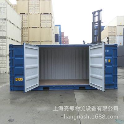 船级社认证全新20尺侧全开门集装箱,两面开门,少量现货大量订制