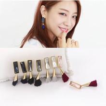 Khuyên tai nữ thời trang, kiểu dáng sang trọng, phong cách Hàn