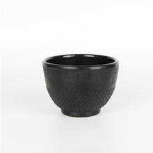 松和堂茶杯日本南部铁壶茶道配件颗粒杯兰花杯兽头杯铁壶专用茶杯