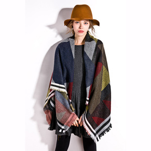 New style of winter and autumn shade, cashmere shawl, European and American fashion, warm scarves, scarves, women's scar