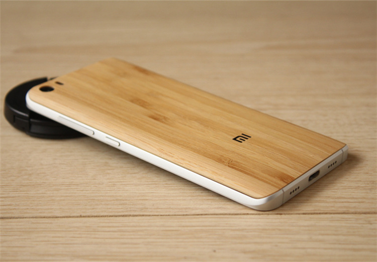 9d265e5be Wood Style Bamboo Texture Case Back Battery Cover Replacement for ...
