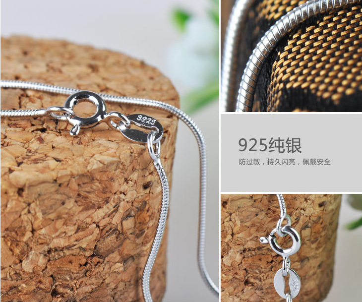 Silver Korea Geometric necklace(40cm) NHDY0007-40cm