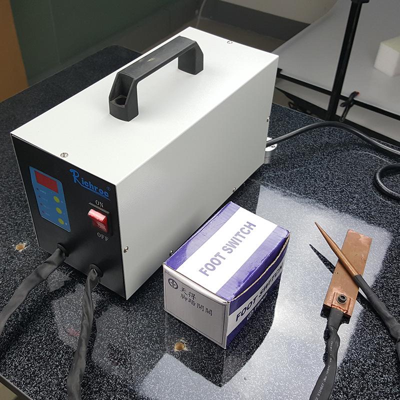厂家供应 电池细丝焊接手提式点焊机  点焊机锂电池 点焊机手持