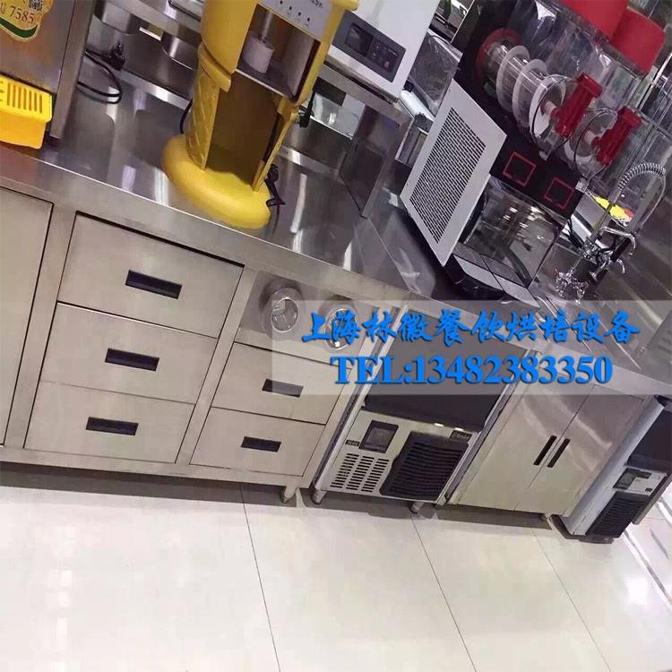 组合式工作台冷柜 连锁咖啡店 饮品奶茶店等餐饮类后厨设备