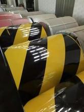 專業黑黃色斑馬線彩卷印花迷彩彩鋼卷