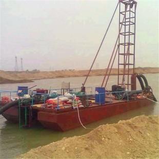 黄河抽沙船吸沙船 小型吸砂船抽沙船设备 各种规格抽沙机械