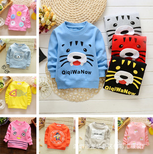 2016 new Tong Wei clothing factory direct autumn and winter children's leisure children's clothing Korean cashme