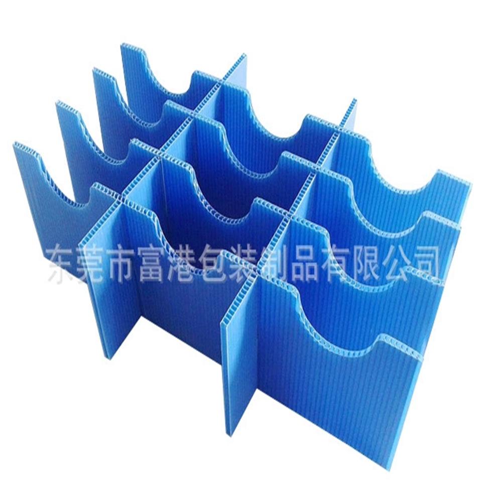 企业采集供应按要求定做塑胶中空板瓦楞板刀卡隔板图片生产厂家
