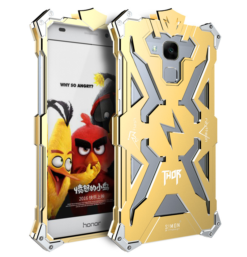 SIMON THOR Aviation Aluminum Alloy Shockproof Armor Metal Case Cover for Huawei Honor 5C