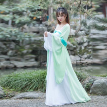 新款古装汉服成人女仙女服装多款多色影视演出服摄影馆舞蹈服批发