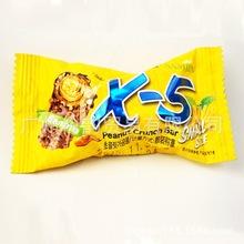 批发 韩国 进口食品 三进x-5香蕉味花生?#34892;?#24039;克力棒36g