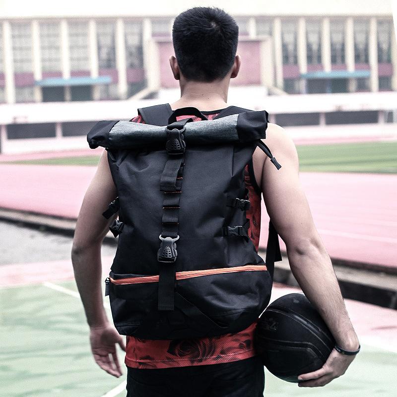篮球背包双肩包男户外运动出行旅行背包大容量多功能实用包包定制