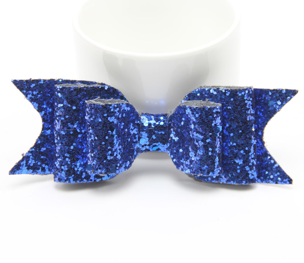 New explosion large size shiny gold glitter bow hairpin ladies spring clip children39s hair accessories wholesale NHDM208960