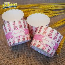 新款淋膜纸耐高温蛋糕花边纸杯防油彩色蛋糕纸杯环保创意蛋糕纸托