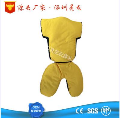 变形U型枕二用枕 莱卡布填充粒子球衣抱枕靠枕 印刷产品广告LOGO