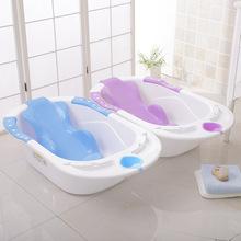 婴儿浴盆新款海豚婴儿宝宝小孩新生儿洗澡盆大号儿童宝宝浴盆