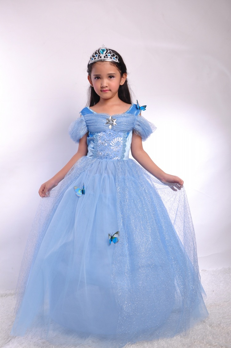undefined  sc 1 st  DHgate.com & Discount Snowflake Diamond Cinderella Dress Fancy Dress Costumes For ...