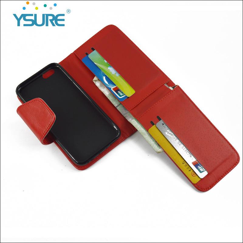 多功能手机保护皮套厂家直销 多卡位左右开钱包款手机套 大盖头款