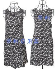 韩国绒巴厘纱褶皱围裙反穿衣韩版打皱围裙定做花边褶皱围裙日本