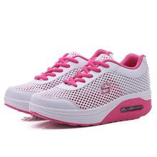 Giày thể thao nữ thời trang, thiết kế mặt lưới, kiểu dáng năng động