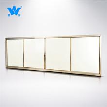 定制組合推拉式教學黑板4*1.3米 磁性白板可裝電子一體機教師綠板